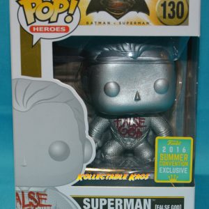 SDCC Batman v Superman: Dawn of Justice - Superman False God SDCC 2016 Exclusive Pop! Vinyl Figu