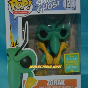 SDCC Space Ghost - Zorak SDCC 2016 Exclusive Pop + PROTECTOR