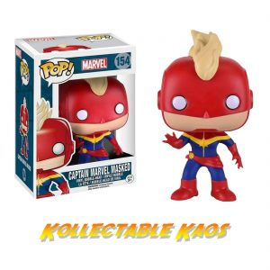 The Avengers - Captain Marvel Masked Pop! Vinyl Figure
