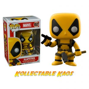 Deadpool - Slapstick (Yellow) Deadpool Pop! Vinyl Figure