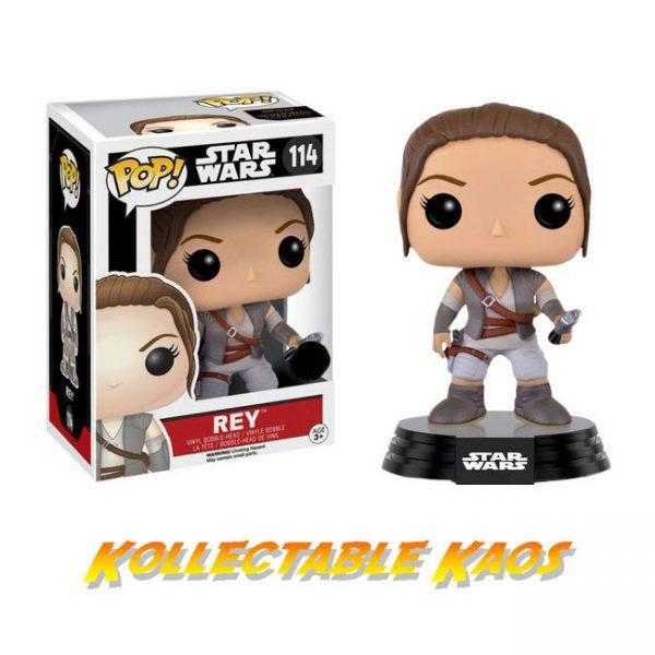 Star Wars Episode VII: The Force Awakens - Rey Final Scene Outfit Pop! Vinyl Figure