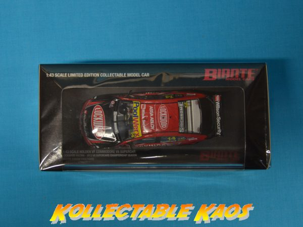 1:43 2013 VF Commodore - Lockwood Racing - Fabian Coulthard