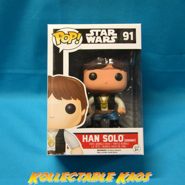 Star Wars - Han Solo Ceremony Pop! Vinyl Figure