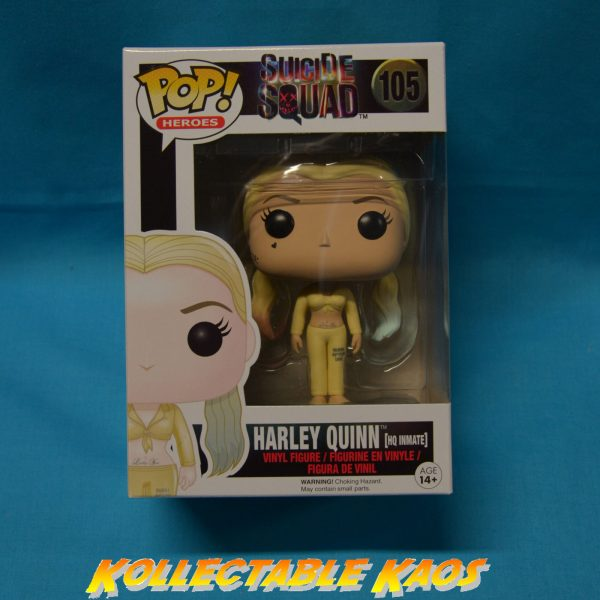 Suicide Squad - Inmate Harley Quinn Pop + POP PROTECTOR(RS)