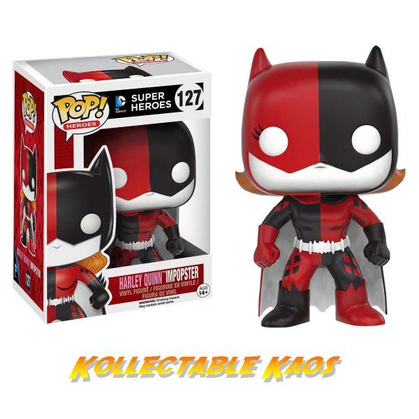 Batman - Batgirl as Harley Quinn Impopster Pop! Vinyl Figure