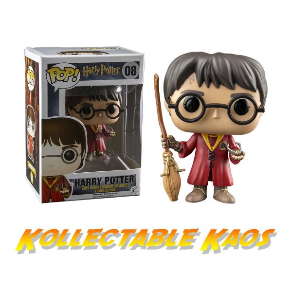 Harry Potter - Harry Potter Quidditch Pop! Vinyl Figure