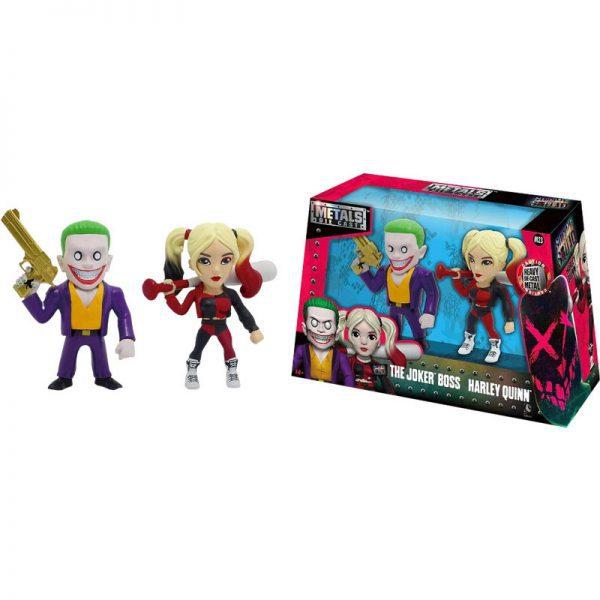 "Suicide Squad - Joker & Harley 4"" Metals Die-Cast Action Figure 2-Pack"