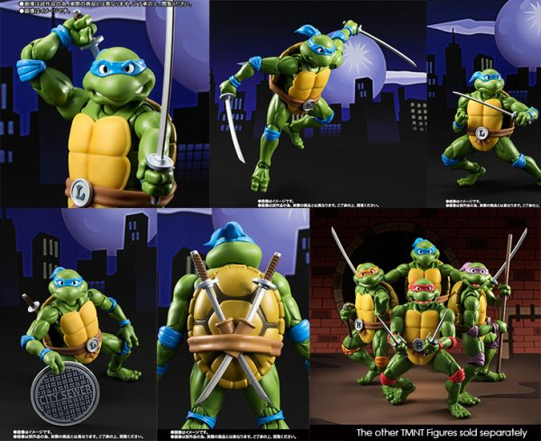 TAMASHII NATIONS - S.H.Figuarts - TEENAGE MUTANT NINJA TURTLES Leonardo