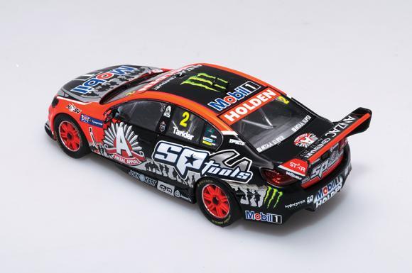 1:43 2015 Tyrepower Tasmania SuperSprint - Holden VF Commodore - HRT - ANZAC Livery - Tander