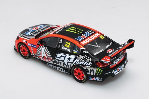 1:43 2015 Tyrepower Tasmania SuperSprint - Holden VF Commodore - HRT - ANZAC Livery - Courtney