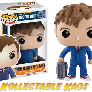 Doctor Who - 10th Doctor with Hand Pop! Vinyl Figure