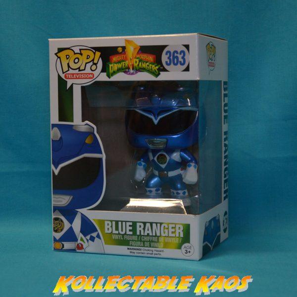 Power Rangers - Blue Ranger Metallic Pop! Vinyl Figure