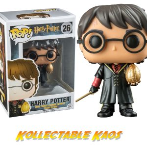 Harry Potter - Triwizard Harry Potter with Egg Pop! Vinyl Figure