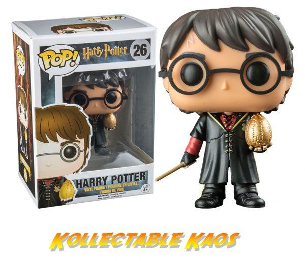 Harry Potter - Triwizard Harry Potter with Egg Pop! Vinyl Figure