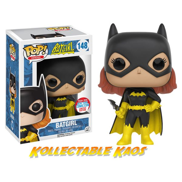 NYCC Pop! Heroes: DC Heroes - Classic Batgirl