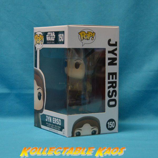 Star Wars: Rogue One - Jyn Erso Hooded Pop! Vinyl Figure