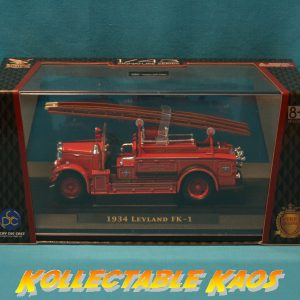 1:43 Lucky Diecast - 1934 Leyland FK-1 - Fire Engine