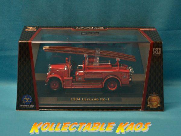 1:43 Lucky Diecast - 1934 Leyland FK-1 - Fire Engine