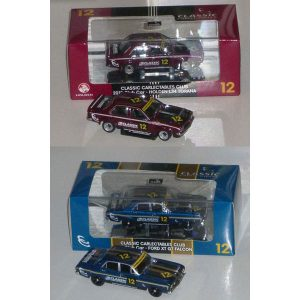 1:43 Classics - 2012 Club Cars - Set of Two