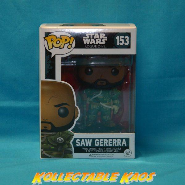 Star Wars: Rogue One - Saw Gererra Pop! Vinyl Figure