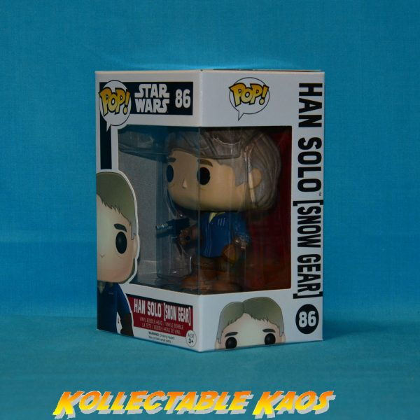 Star Wars: Episode VII: The Force Awakens - Han Solo in Snow Gear Pop! Vinyl Figure