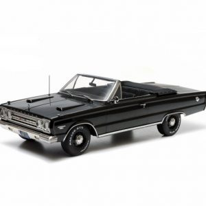 1:18 Greenlight - 1967 Plymouth Belverdere GTX Convert - Black