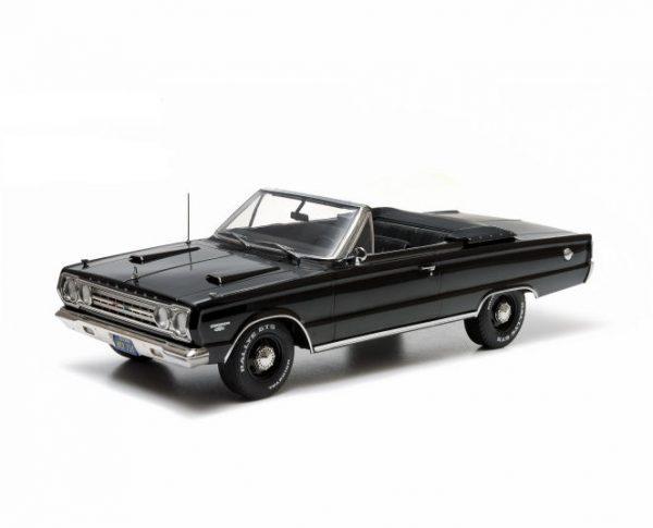 1:18 Greenlight - 1967 Plymouth Belverdere GTX Convert - Black