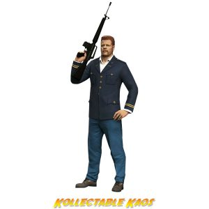 """The Walking Dead - Abraham Ford 7"""" Colour Tops Action Figure"""