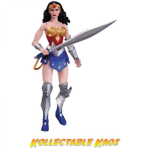 "DC Comics - Earth 2 - Wonder Woman 17.5cm(7"") Action Figure - The New 52"