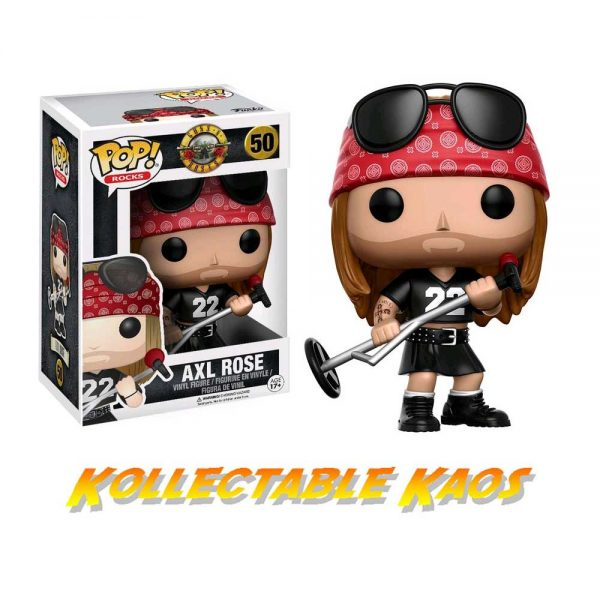 Guns N' Roses - Axl Rose Pop! Vinyl Figure