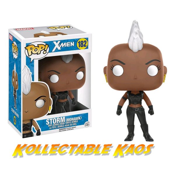 FUN11699 storm mohawk pop vinyl 600x600 - X-Men - Storm with Mohawk Pop! Vinyl Figure
