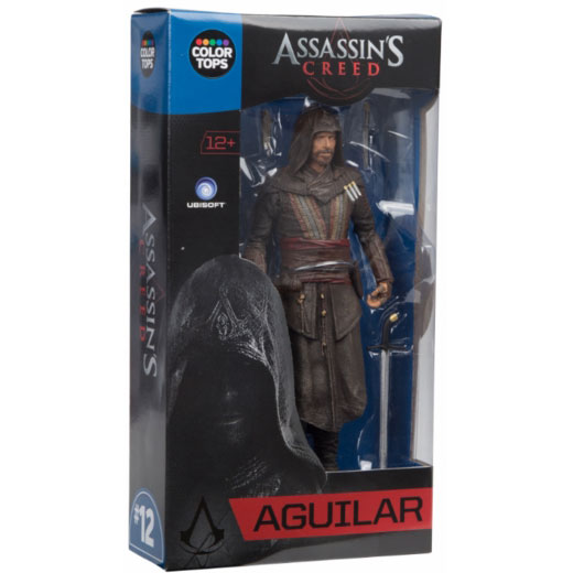 """Assassin's Creed: Movie - Aguilar 7"""" Colour Tops Action Figure"""