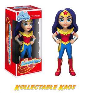 "DC Super Hero Girls - Wonder Woman Rock Candy 12.5cm(5"") Vinyl Figure"