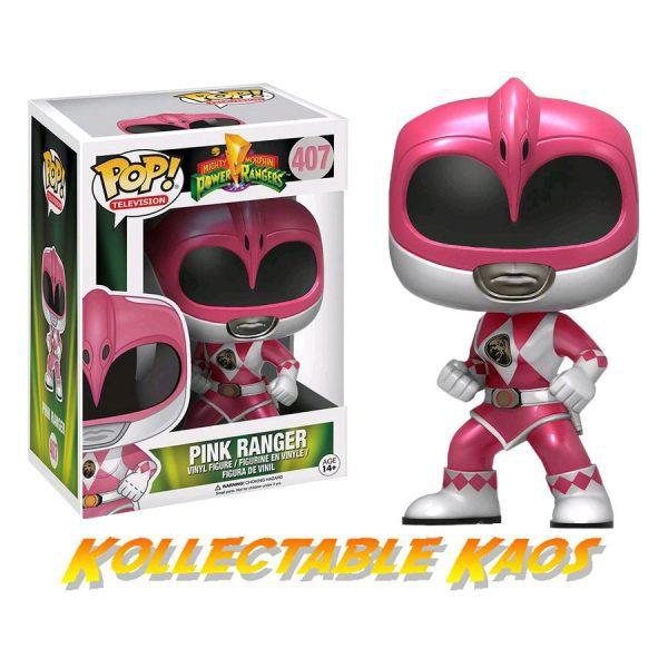 Power Rangers - Metallic Pink Ranger Pop! Vinyl Figure (RS)