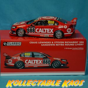 1:18 2016 Sandown Retro Round Livery - Lowndes/Richards