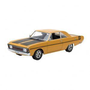 1:18 DDA - 1970 Chrysler VG Valiant - Hot Mustard