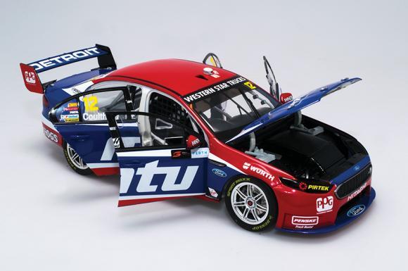 1:18 2016 Perth SuperSprint - DJR Team Penske MTU - Ford Falcon FGX - Coulthard