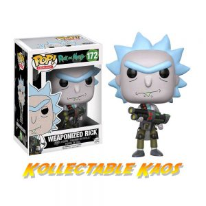 Rick and Morty - Weaponized Rick Pop! Vinyl Figure