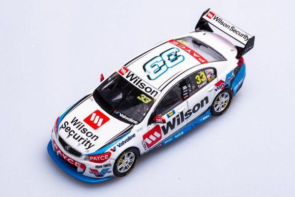 B43H17G Garth Tander 3 600x400 - 1:43 2017 Holden VF Commodore - Wilson Security Racing GRM - Garth Tander