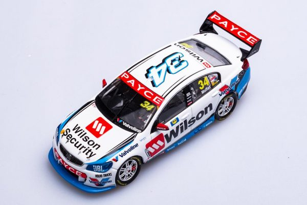 B43H17H James Moffat 3 600x400 - 1:43 2017 Holden VF Commodore - Wilson Security Racing GRM - James Moffat