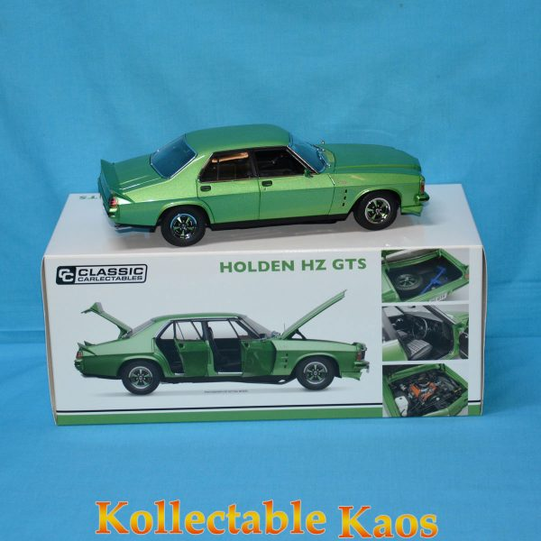 CC18543 Holden HZ Mint Green 2 600x600 - 1:18 1986 Bathurst - Ford Mustang GT - Johnson/Hansford