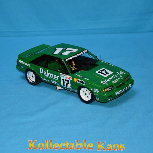CC18543 Holden HZ Mint Green 3 600x600 - 1:18 1986 Bathurst - Ford Mustang GT - Johnson/Hansford