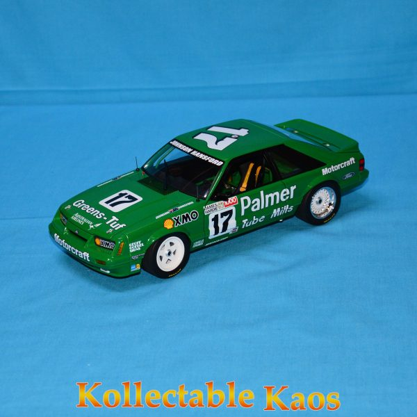 CC18543 Holden HZ Mint Green 4 600x600 - 1:18 1986 Bathurst - Ford Mustang GT - Johnson/Hansford