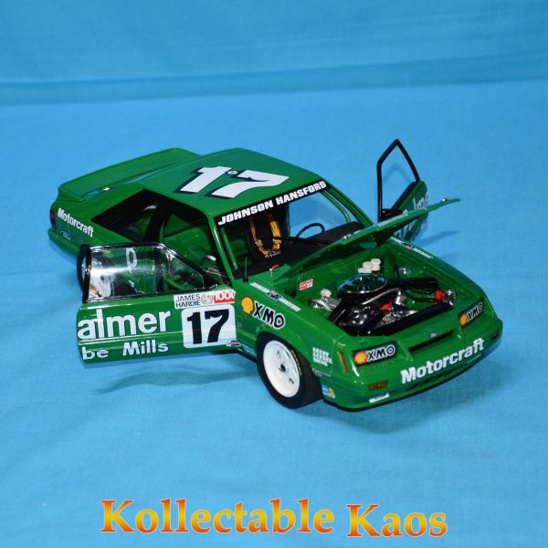 CC18543 Holden HZ Mint Green 7 600x600 - 1:18 1986 Bathurst - Ford Mustang GT - Johnson/Hansford