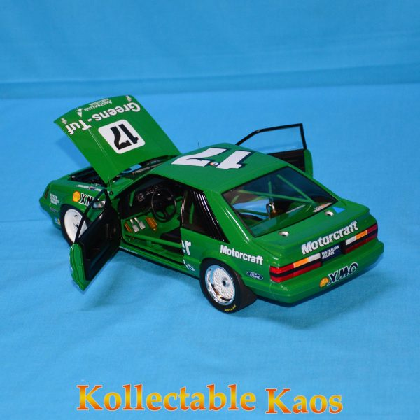 CC18543 Holden HZ Mint Green 8 600x600 - 1:18 1986 Bathurst - Ford Mustang GT - Johnson/Hansford