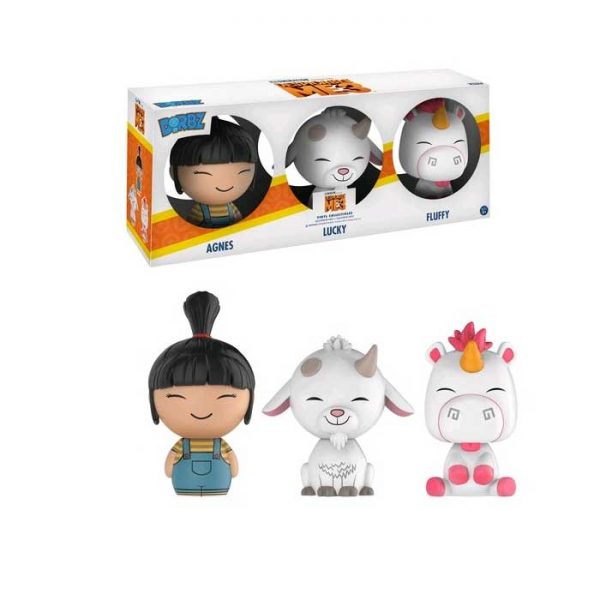 Despicable Me 3 - Agnes, Lucky & Fluffy Dorbz 3-Pack(RS)