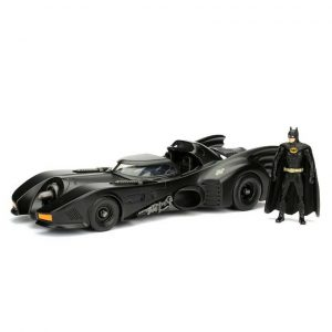 1:24 Jada - Batman - 1989 Batmobile with Batman Figure