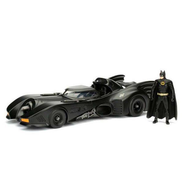 1:24 Jada - Batman - 1989 Batmobile with Batman Figure