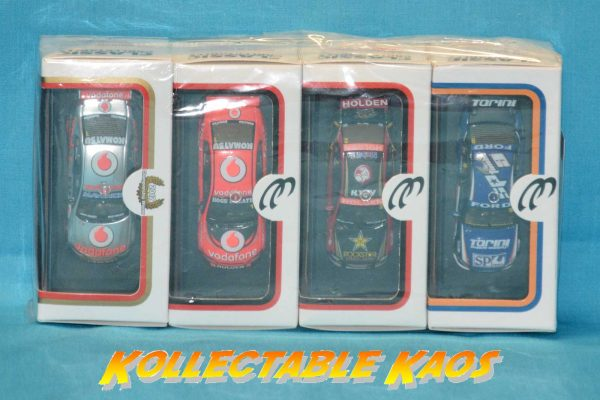 1:64 Classic Carlectables - 2012 Season - V8 Supercar Models - 4 Pack