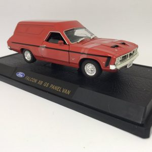 1:32 Oz Legends - XB GS Ford Falcon Panel Van - Red Pepper